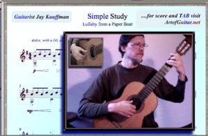Video and Score—Prelude 1: Lullaby from a Paper Boat thumbnail