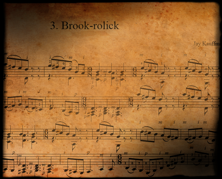 Prelude #3: Brook-rolick