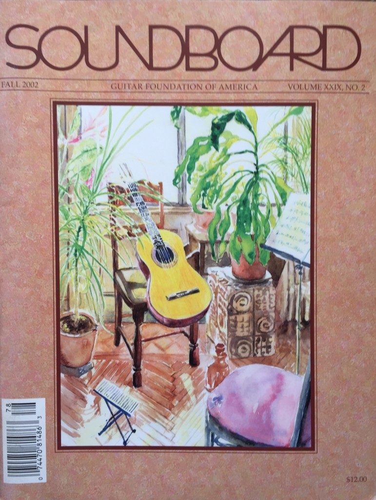 Soundboard Fall 2012